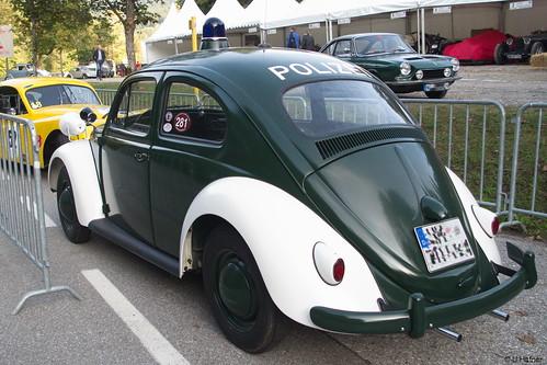 6bc- VW Käfer Polizei - Rossfeld 2016