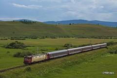 EA1 055 (92Dragos) Tags: 4100558 deoul brasov m400 magistrala400 ir1645 ir1645bucuresti targu mures ir1646 marosvásárhely ardeal transilvania tren ir cfr calatori asea le5100kw ea vagon 2296 erdély vasút gyorsvonat electroputere craiova romanian state railway román