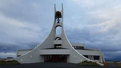 Stykkishlmur Church (kzoop) Tags: samsung euopre iceland travel vacation snfellsnes snfellsnespeninsula snaefellsnes europe church building architecture
