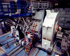 BABAR Detector, Under Construction (SLAC National Accelerator Laboratory) Tags: babar particlephysics collider bfactory slac slacarchivesandhistoryoffice slacnationalacceleratorlab