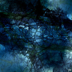 mur bleu (JMVerco) Tags: square art abstrait abstract astratto création creative creazione photomanipulation digitalart bleu blue blu