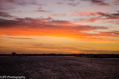 Port Melbourne (JPS Photography1) Tags: nikon australia d7000 water sea sunset sunrise harbour sky clouds