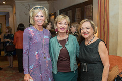 Blanche Morello, Cathy Borlenghi and Carla Russell at the PARTNERS Fall Coffee. (UTHealth) Tags: uthealth school nursing partners fall coffee 2016 houston texas university health science center