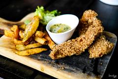 Fish & Fries (Daniel Y. Go) Tags: fuji fujixpro2 xpro2 philippines food singleorigin fishchips