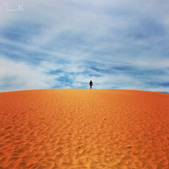 red planet (YULIA M) Tags: desert sand red sky silhouette vietnam outdoor landscape