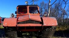 AKTIV-FISCHER..#1870  Type ST4. (goldiesguy) Tags: goldiesguy vehicle heavyequipment sweden old offroad