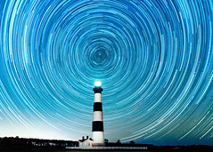 Bodie Island Star Trails Outer Banks (peterncsu) Tags: bodieisland startrails lighthouse polaris stars sigma20art obx