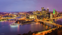 City of Pittsburgh (mrsonnguyen) Tags: pittsburgh night a6000 longexposure