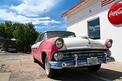 USA (bblenna) Tags: route 66 car icekrem cocacola arizona vintage muscle