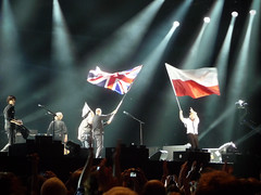Paul McCartney (robseye76) Tags: paul concert stadium gig flags national warsaw stadion mccartney warszawa koncert paulmccartney narodowy 2013 lastfm:event=3545008