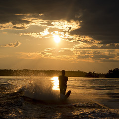 laker12322.jpg (Keith Levit) Tags: sunset summer sky cloud sun lake ontario canada motion reflection sports water silhouette speed standing fun outdoors evening holding action dusk fulllength wave rope spray adventure agility waterskiing balance wakeboard extremesports wakeboarding challenge enjoyment onthemove kenora lakeofthewoods oneperson courage frontview watersport splashing exhilaration watersurface traveldestinations leisureactivity keewatin weekendactivities squareimage unrecognizableperson