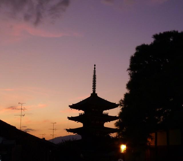京都の一日目が終わろうとしています。|