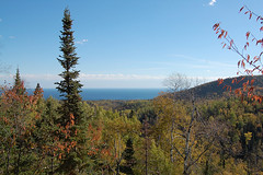 Lake Superior view near Lutsen