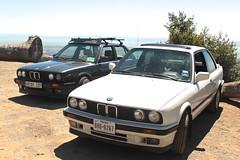 Schwarz + Alpine (sina.pour) Tags: california bay berkeley euro peak m hills alpine m42 area bmw grizzly squad m3 weiss bbs schwarz goon 318 e30 sportscar stance bimmer 318i mtech r3v 318is diamants r3vlimited
