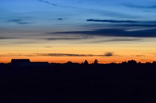 Boundary Bay Sunset