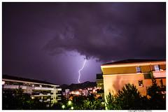 Orage sur Marseille (Fabien TEBOUL) Tags: lighting light sky nikon flash pluie ciel eclair orage lightstorm d5200