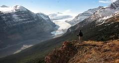 Mountain high (CNorthExplores) Tags: park travel autumn canada mountains canon rockies canadian glacier national alberta banff saskatchewan g11 saskachewan