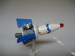 Aurora 1 Rocket (Thomas of Tortuga) Tags: lego space scifi rocket spaceship moc