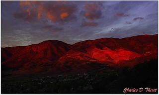 Sunrise on the Scar (Peakview Quarry)