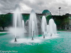 Lille - Place de la Rpublique (NicoLeNordiste) Tags: de la place lille rpublique fontaine