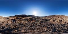 More Fun in Grand Coulee, Washington (Garret Veley) Tags: park sunset panorama washington coulee grandcoulee stitched 360x180 potholes dryfalls ptgui equirectangular deeplake canon1740mm canon5dmk2 garretveley promotecontrol nodalninjam1l