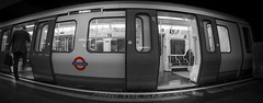 45/52 Selective Colour (Suggsy69) Tags: train underground nikon tube londonunderground londontube mindthegap week45 selectivecolour 2013 d5200 weekofnovember4 52weeksthe2013edition 522013