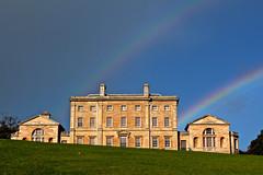 Somewhere, over the rainbow… (laufar1) Tags: rainbow double mueseum cusworthhall