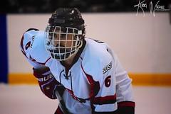 Face Time (KerriNikolePhotography) Tags: college sports hockey nikon icehockey acha sdsu aztecs sdsuhockey nikond3000 kerrinikolephotography
