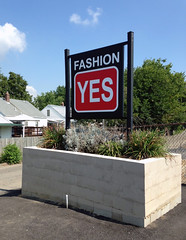 Post and Panel Sign | Signarama Dixie, KY | Fashion Yes