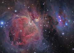 M 42 65mm/102mm Combine Crop (Chuck Manges) Tags: nebula astrophotography orion m42 ccd m43 at65edq qhy9m