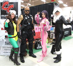 Collectors Con MD Cosplay (MorpheusBlade) Tags: sunglasses tattoo blackcat costume cosplay muscle bald rogue comicon tactical psylocke daywalker bladetheseries bladehouseofchthon bladethevampireslayer bladethevampirekiller bladethevampirehunter collectorsconmd collectorsconmaryland 2013collectorsconmaryland