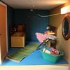The bathroom... (*blythe-berlin*) Tags: orange vintage göteborg toys dolls furniture gothenburg 70s möbel byebye spielzeug dollhouse caco jahre puppenhaus lundby 70ziger biegepuppen doll´shouse