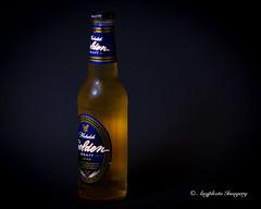 Golden (augphoto) Tags: stilllife beer gold golden bottle drink alcohol tabletop augphotoimagery