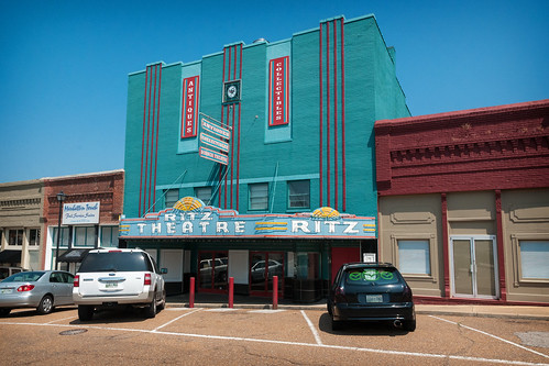 Ritz Theatre (1942), 126 W Liberty Ave, Covington, TN (1826, pop. 9,063), USA