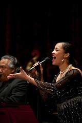 Singer with John Santos