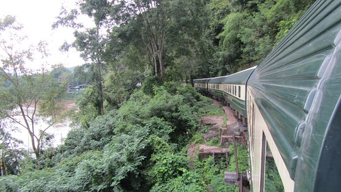 Eastern & Oriental Train crossing the Wampo Viaduct