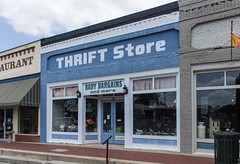 Thrift Store (jwcjr) Tags: barnesvillega barnesvillegeorgia smalltownga thriftstorebarnesville