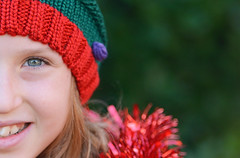 Can't half wait 'till Christmas!!! {Explored} (mentalPICTURE) Tags: christmas xmas portrait copyright david reflection smile hat kids aka toy eyes nikon seasons bright bokeh picture sparkle explore ornament novelty crop half greetings anticipation 25th f28 bobble trinket mental d800 70200mm hollingworth explored vrii mentalpicture
