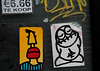 stickers (wojofoto) Tags: graffiti streetart wojofoto wojo amsterdam pressone stickers stickerart wolfgangjosten