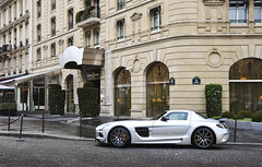Black Series. (misterokz) Tags: black paris mercedes benz bs exotic series supercar sls amg worldcars