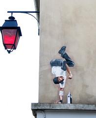Pasted paper by Big Ben [Lyon, France] (biphop) Tags: streetart france pasteup collage paper big europe lyon ben wheatpaste pasted croixrousse wheatpaper