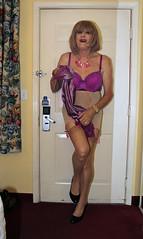new94131-IMG_2492t (Misscherieamor) Tags: stockings tv feminine cd bra motel lingerie tgirl transgender mature sissy tranny transvestite slip satin crossdress ts gurl tg travestis garters girdle travesti travestie m2f xdresser tgurl