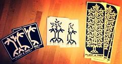 Stelle confuse sticker pack (Strifu) Tags: street art sticker pack firenze plantatree stelleconfuse