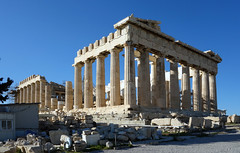 Parthenon from the southeast