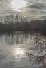Stoxkers Lake (d:w) Tags: sunset lake reflections landscape mirror swans hertfordshire rickmansworth aquadrome
