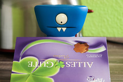 Uglyworld #2189 - Justs One Can't Hurts - (Project On The Go - Image 21-365) (www.bazpics.com) Tags: birthday blue ice hockey training project germany dessert toy deutschland tivoli blog day action box chocolate au january vinyl 21st website aachen figure present 365 practice adventures uglydoll milka baz chocolat wedgie uglydolls pitbulls alles pralines 2014 gute wedgehead uglyworld prettyugly barryoneilphotography adventuresinuglyworld uglyadventures