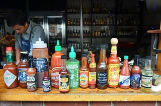 Hot hot hot sauces - Fancy Hanks, Melbourne