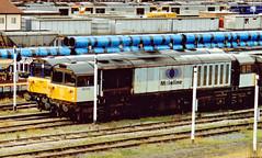 58009 (marcus.45111) Tags: train transport 1996 railway bone coal nottinghamshire toton mainlinelivery ukrailway 58009 uktrain ukbuilt railfreightcoal clas58 1z58 classictraction