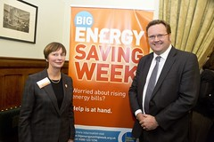 "Stephen Mosley MP with Gillian Guy, Chief Exec of Citizens Advice Bureau at Launch of Energy Savings Week 2014 • <a style=""font-size:0.8em;"" href=""http://www.flickr.com/photos/51035458@N07/12208621225/"" target=""_blank"">View on Flickr</a>"