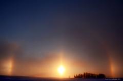 Sun Dogs (djsime) Tags: winter minnesota halo february sundogs southernminnesota